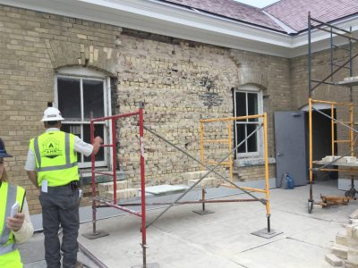 Fort Snelling Building work