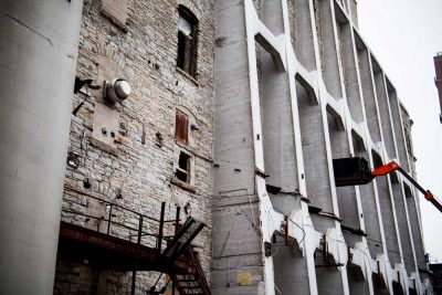 A Mill Artists lofts masonry repair