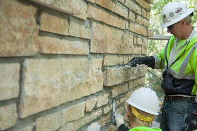 Tuckpointing Masonry work