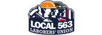 Local 563 Laborers union logo