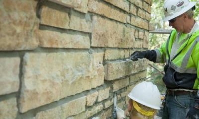 Brick repointing contractor