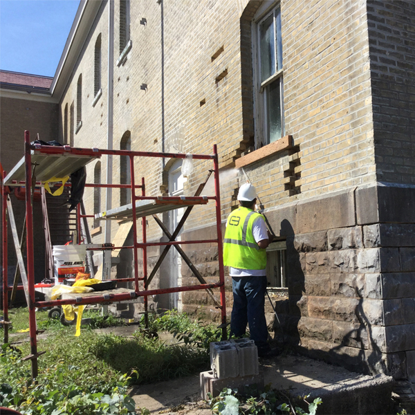 Fort Snelling Buildings and preservation